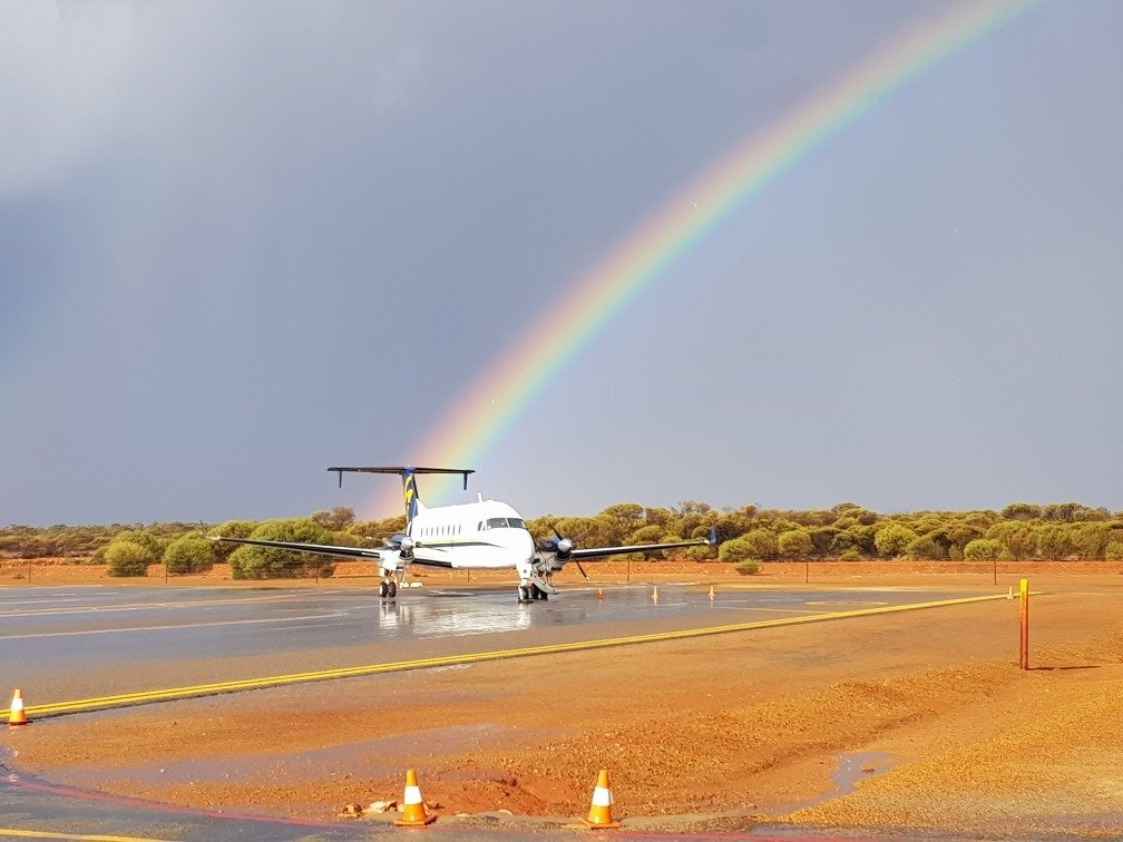 Take a Scenic Flight over Abrolhos Islands