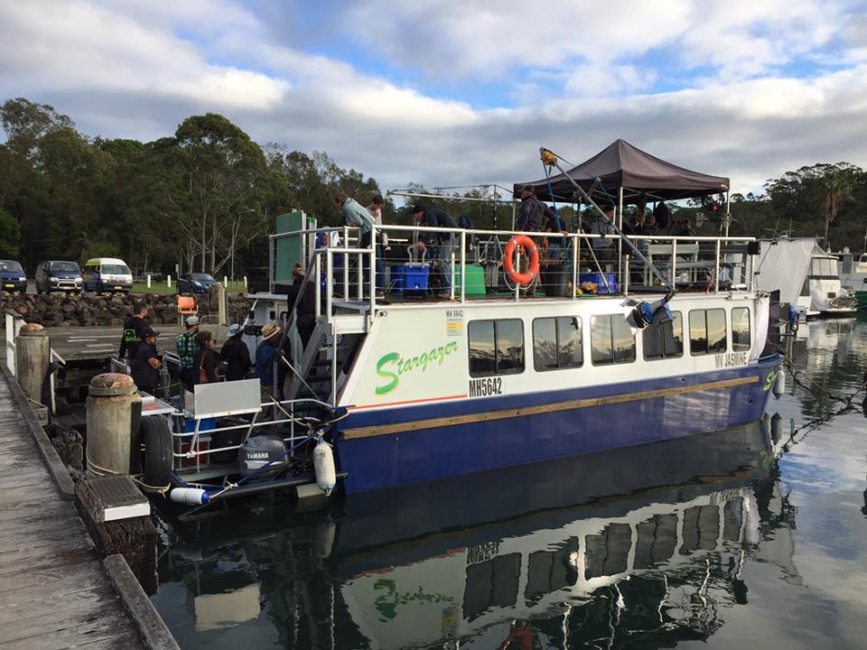 Cruise along Brunswick River